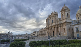 The cathedral of Noto Royalty Free Stock Photo