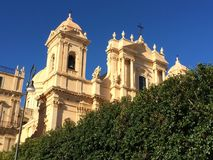 Cathedral in Noto, Sicily, Italy Stock Photo