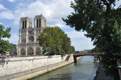 Cathedral, Notre Dam Stock Photography