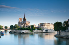 Cathedral of Notre Dame Royalty Free Stock Images