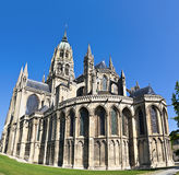 Cathedral Notre Dame, Bayeux, Normandy. France Royalty Free Stock Photo