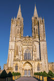 Cathedral Notre Dame Coutances Normandy Stock Photography