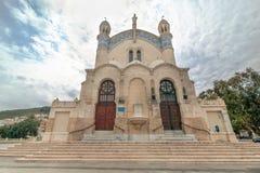 Cathedral of Notre dame d'Afrique, Algiers Algeria Stock Photos