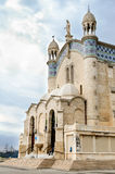 Cathedral of Notre dame d'Afrique, Algiers Algeria. Royalty Free Stock Photos