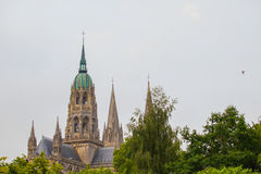 The cathedral Notre-Dame de Bayeux Royalty Free Stock Photo