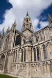 Cathedral Notre Dame de Bayeux in France Stock Photos