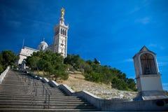 Cathedral Notre Dame de la Garde Royalty Free Stock Image