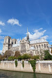 Cathedral of Notre Dame de Paris Stock Photos