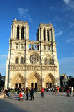 Cathedral Notre-Dame De Paris Stock Photos