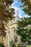 The Cathedral of Notre Dame de Paris Stock Images