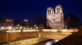 The cathedral Notre - Dame de Paris Stock Image