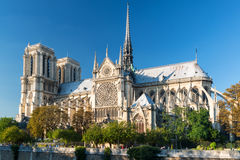 The Cathedral of Notre Dame de Paris Royalty Free Stock Photos