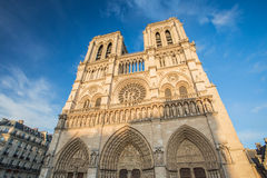 The Cathedral of Notre Dame de Paris, France Royalty Free Stock Images