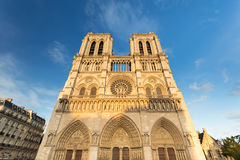 The Cathedral of Notre Dame de Paris, France Stock Images
