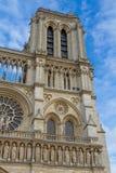Cathedral Notre Dame de Paris Stock Images