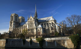 The Cathedral of Notre Dame Stock Photo