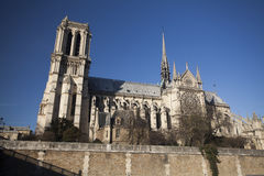 The Cathedral of Notre Dame Stock Image