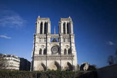 The Cathedral of Notre Dame Stock Images