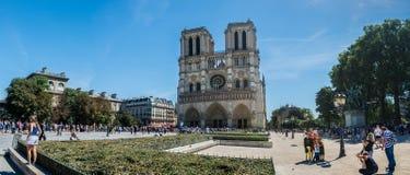 The Cathedral Notre-dame de Paris Stock Photography