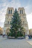Cathedral Notre Dame de Paris (France) Royalty Free Stock Photo