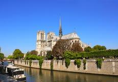 Cathedral of Notre Dame de Paris, France Stock Images