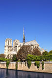 Cathedral of Notre Dame de Paris, France Royalty Free Stock Images