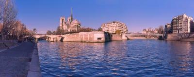 Cathedral of Notre Dame de Paris, France Stock Image