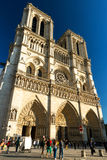 The Cathedral of Notre Dame de Paris, France Royalty Free Stock Image