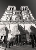 The Cathedral of Notre Dame de Paris, France Stock Photo