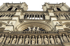 Cathedral Notre-Dame de Paris. Paris. France. Royalty Free Stock Photography