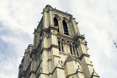 Cathedral Notre-Dame de Paris. Paris. France. Stock Image