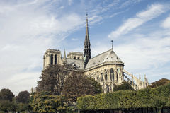 Cathedral Notre-Dame de Paris. Paris. France. Royalty Free Stock Photos
