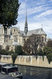 Cathedral Notre-Dame de Paris. Paris. France. Royalty Free Stock Photo