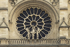 Cathedral Notre-Dame de Paris. Paris. France. Stock Photo