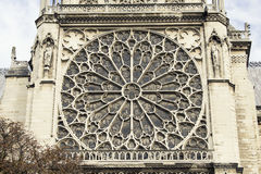 Cathedral Notre-Dame de Paris. Paris. France. Stock Photography