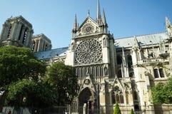 Cathedral Notre-Dame de Paris stock image