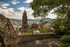 Cathedral Notre Dame de Puy in Le Puy en Velay France Stock Images