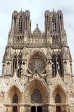 Cathedral Notre-Dame de Reims Stock Photo