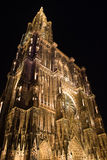 Cathedral of Notre Dame de Strasbourg Royalty Free Stock Photography