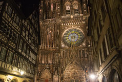 Cathedral of Notre Dame de Strasbourg Royalty Free Stock Images