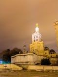 Cathedral Notre Dame des Doms in Avignon Stock Images