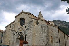 Sisteron Cathedral, France Royalty Free Stock Photos