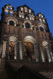 Cathedral Notre-Dame in Le Puy-en-Velay Stock Photo