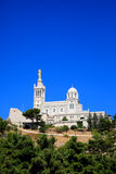 Cathedral Notre Dame in Marseille City Royalty Free Stock Photos