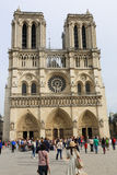 Cathedral Notre Dame - Paris Stock Photography