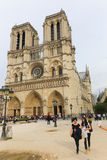 Cathedral Notre Dame - Paris Stock Images