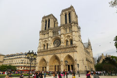 Cathedral Notre Dame - Paris Royalty Free Stock Image