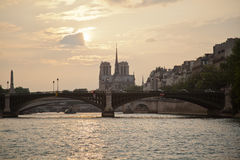Cathedral Notre Dame Paris Royalty Free Stock Image