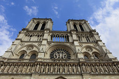 Cathedral of the Notre Dame, Paris, France Stock Photos