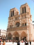 Cathedral Notre-Dame, Paris, France Royalty Free Stock Images